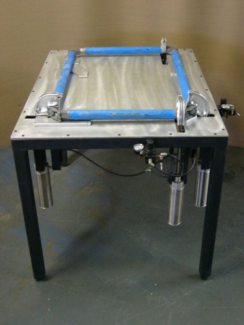 Newman Roller Frame Stretching Table